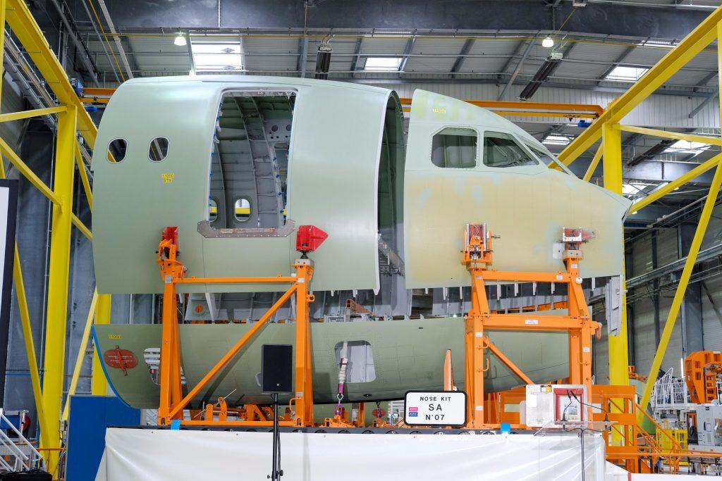 STELIA Aerospace entregou à Airbus as primeiras seções do Airbus A321XLR