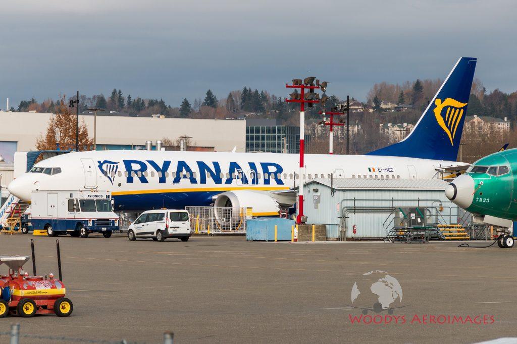 Ryanair recebe segundo B737MAX ou B737 8-200