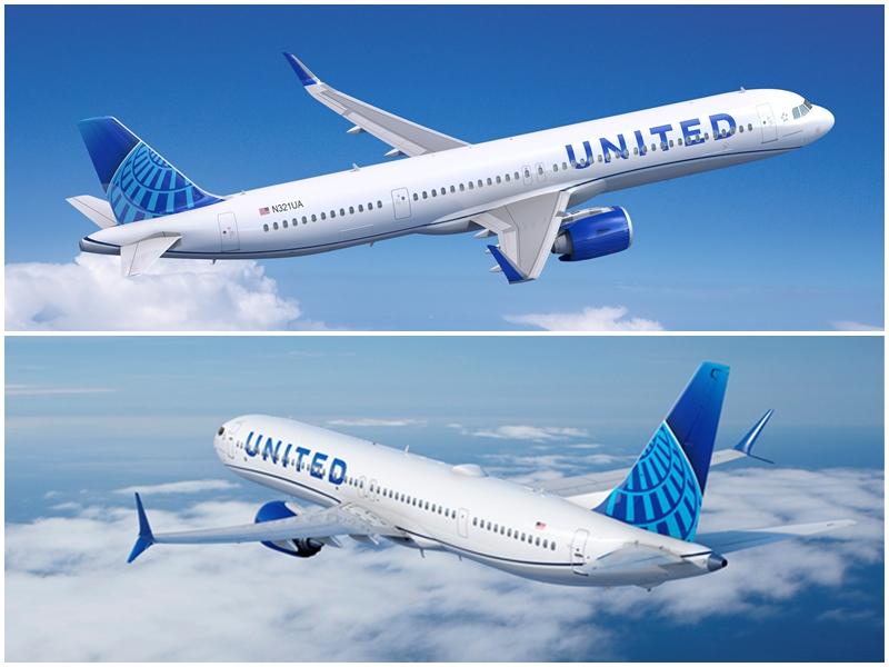 United Airlines faz encomenda para 200 Boeing B737MAX e 70 Airbus A321neo
