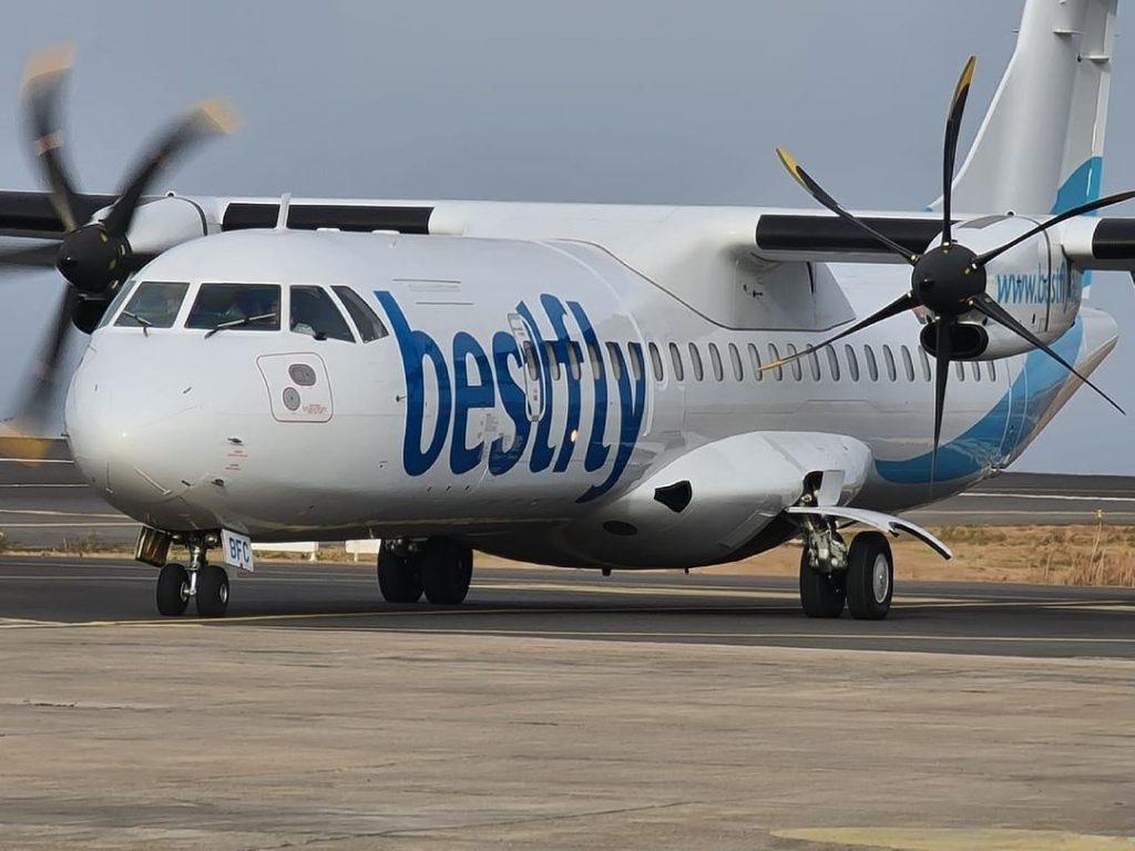 BestFly coloca segundo avião em Cabo Verde e prepara reinício da TICV
