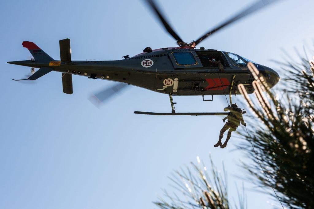 Força Aérea Portuguesa resgata vítima em Arouca (com vídeo)