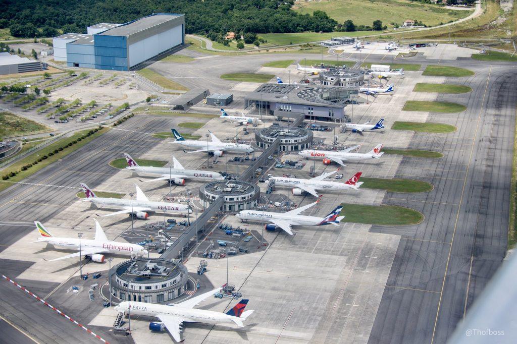 Airbus anunciou a entrega de 40 aviões e 102 encomendas em agosto