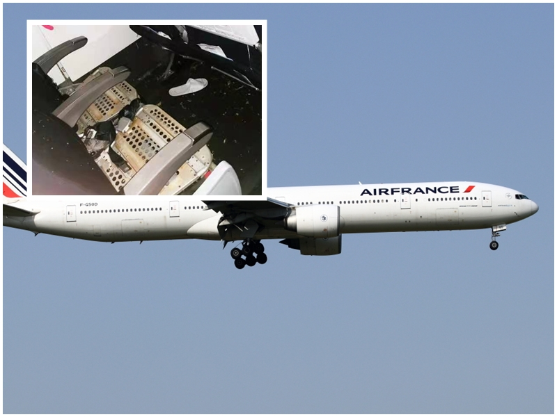 B777 da Air France aterra de emergência devido a incidente com excesso de pressão num tubo de ar condicionado